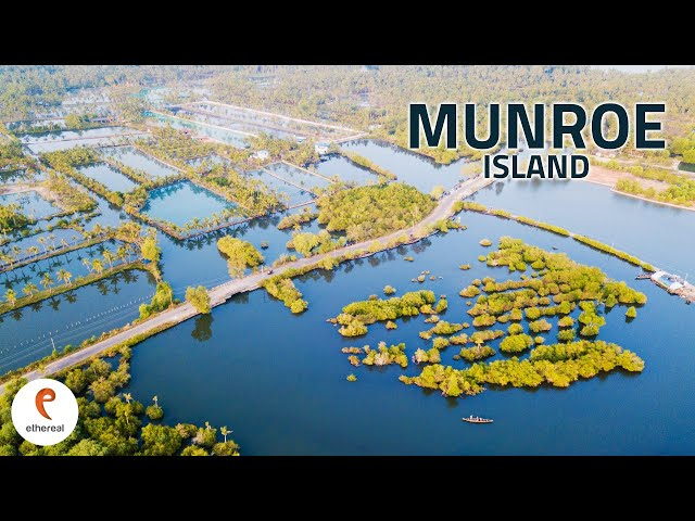 India's Beautiful Natural Venice and Climate Change | Munroe Island - Kerala