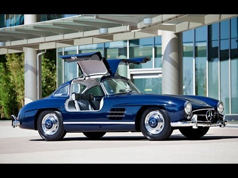 1955 mercedes benz 300 sl gullwing 1 127 500 sold youtube. Black Bedroom Furniture Sets. Home Design Ideas