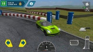 DRIVING SCHOOL TEST CAR RACING GAMEPLAY ANDROID - IOS