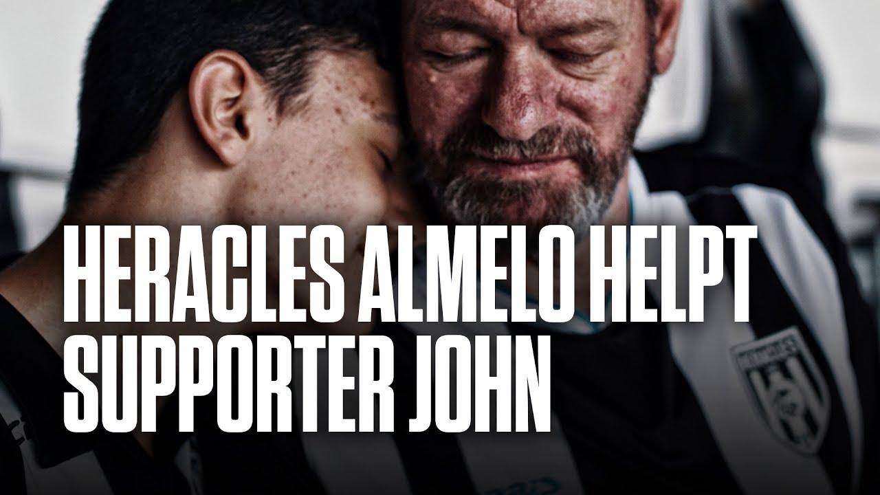 Heracles Almelo helpt supporter John met bijzondere wens