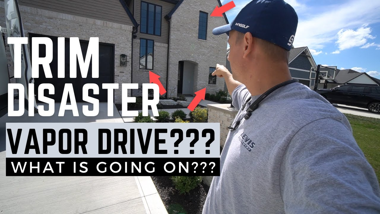 Trim Humidity DISASTER!!! Is Vapor Drive Destroying this Trim Package???