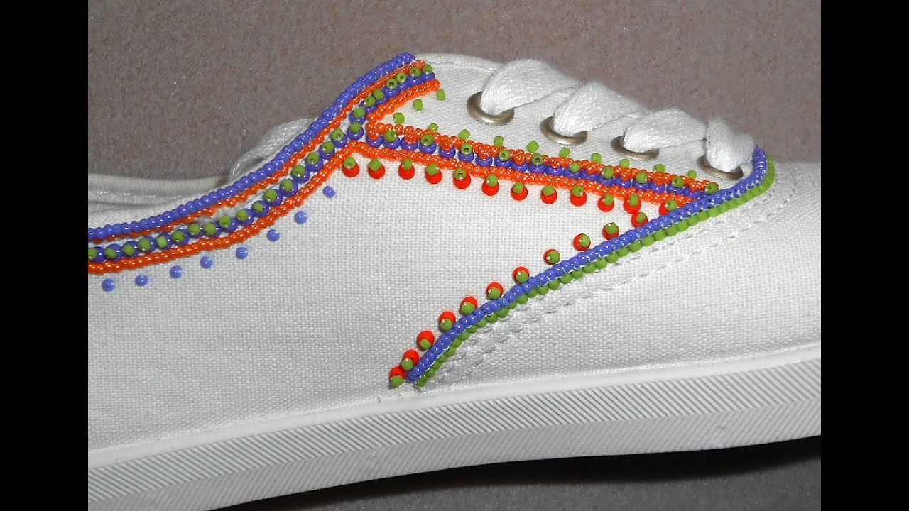More Bead Embroidered Shoes