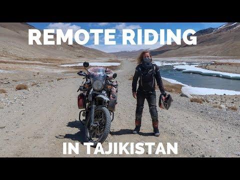 [Eps. 77] REMOTE RIDING in Tajikistan - Royal Enfield Himalayan BS4