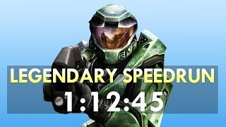 Halo: CE Legendary Speedrun in 1:12:45