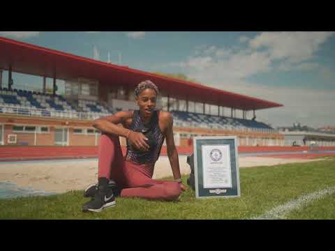 Yulimar Rojas - Guinness World Records 2021 - Triple Jump