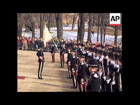 NORWAY: RUSSIAN PRESIDENT BORIS YELTSIN VISIT