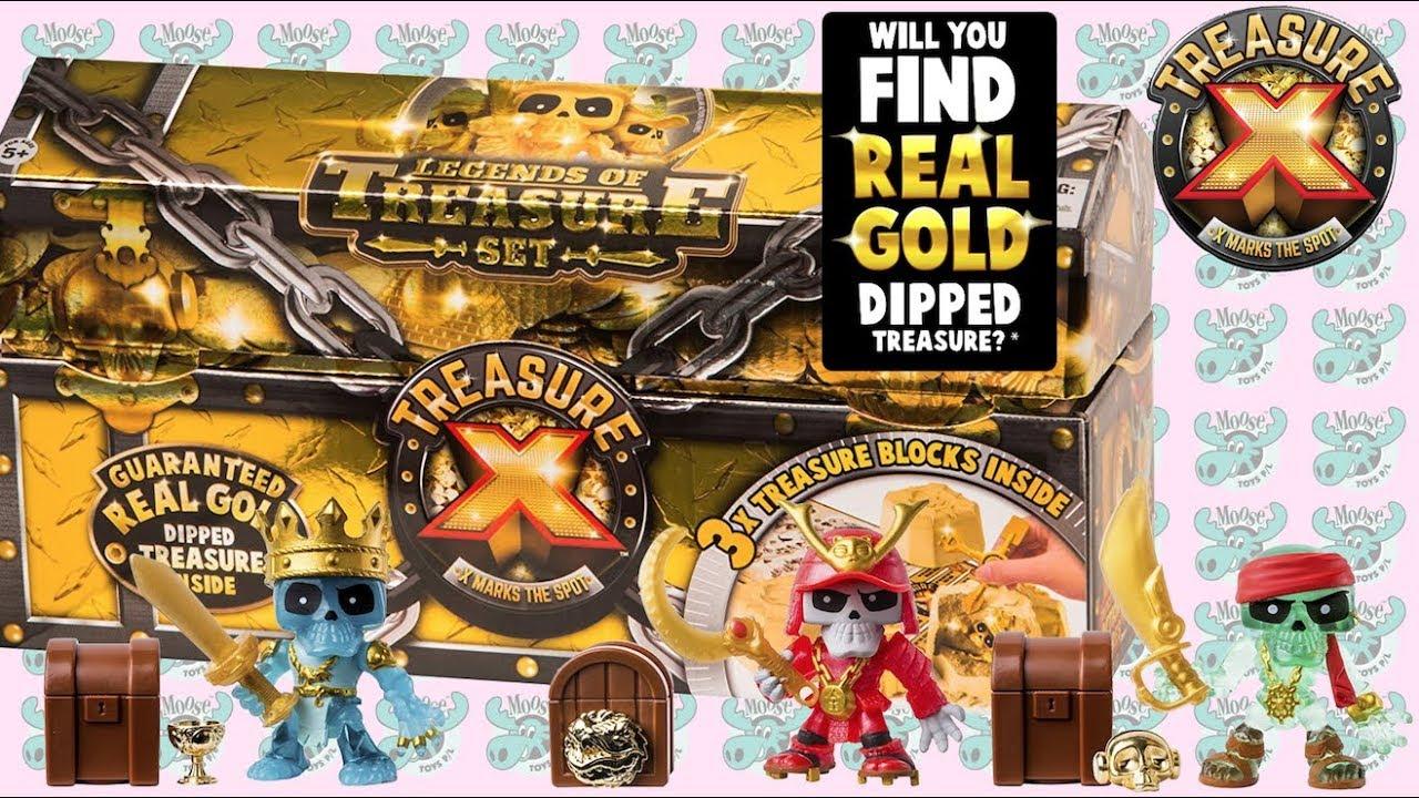 50157a8e8ee2 Treasure X Legends of Treasure 3-Pack
