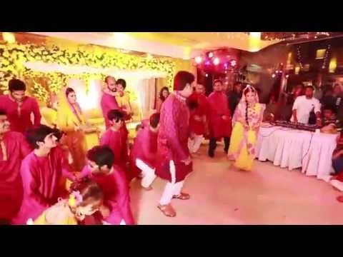 Rezwan & Fariya Gaye Holud Dance Performance