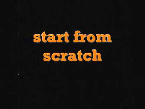 the game - start from scratch