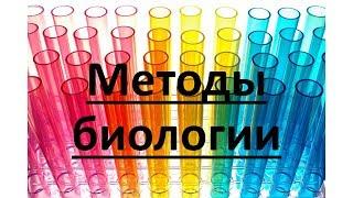 Методы биологических исследований