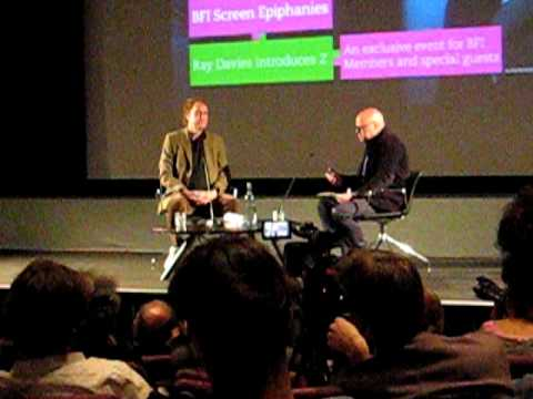 """RAY DAVIES INTRODUCES COSTA-GAVRAS """"Z"""" AT BFI 14 JUNE 2011"""