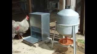 Poultry Self Feeder