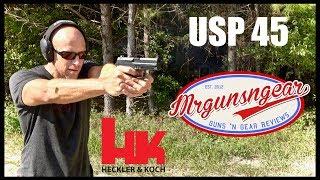Zapętlaj Heckler & Koch USP 45 Pistol: Is It Still Relevant? | Mrgunsngear Channel