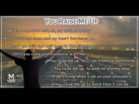 4.3 MB) Raise Me Up Chords - Free Download MP3