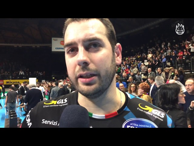 Così il capitano Luciano De Cecco sulla finale Del Monte Coppa Italia