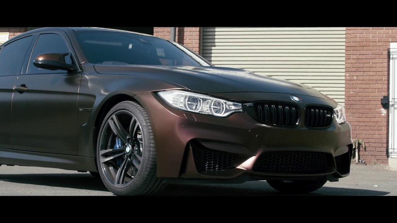 Bmw M3 F80 >> BMW M3 F80 Wrapped In 3M Satin Flip Volcanic Flare Colour Changing Wrap - YouTube