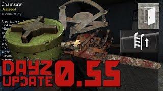 DAYZ UPDATE 0.55: Kettensäge, Bärenfalle, Tretmine uvm. [Info][German/Deutsch][HD]