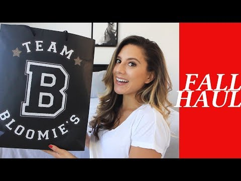 Fall Haul Bloomingdale's Sale Now Try On 2017