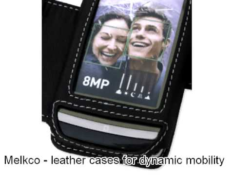 Melkco Leather Case for LG GC900 Viewty Smart - Book