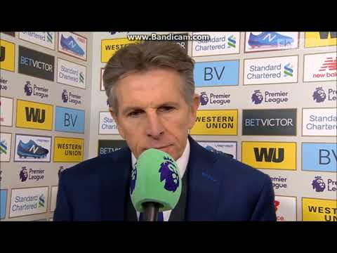 """They gave there best""-Claude Puel post match interview-Liverpool 2 Leicester 1"