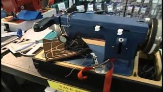 Ultrafeed Sewing Machine Demo At Miami Boat Show