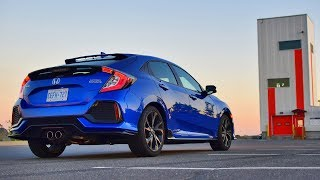 2018 Honda Civic Sport Touring Hatchback Test Drive Review