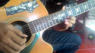 Avenged Sevenfold - Roman Sky Solo  Accoustic Cover