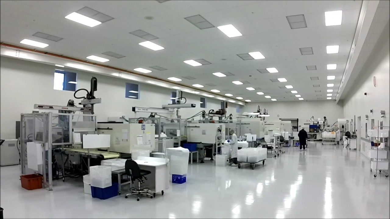 Medical Injection Molding - Class 8 Cleanroom