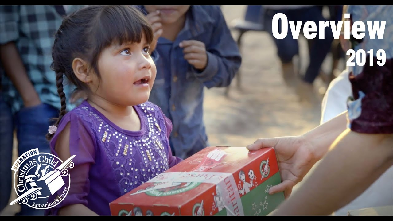 Christmas Child.Operation Christmas Child Overview 2019 60 Seconds