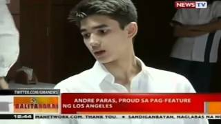 Andre Paras, proud sa pag-feature ng Los Angeles Times sa kapatid na si Kobe