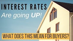 Interest rates are going up! How will it affect you?