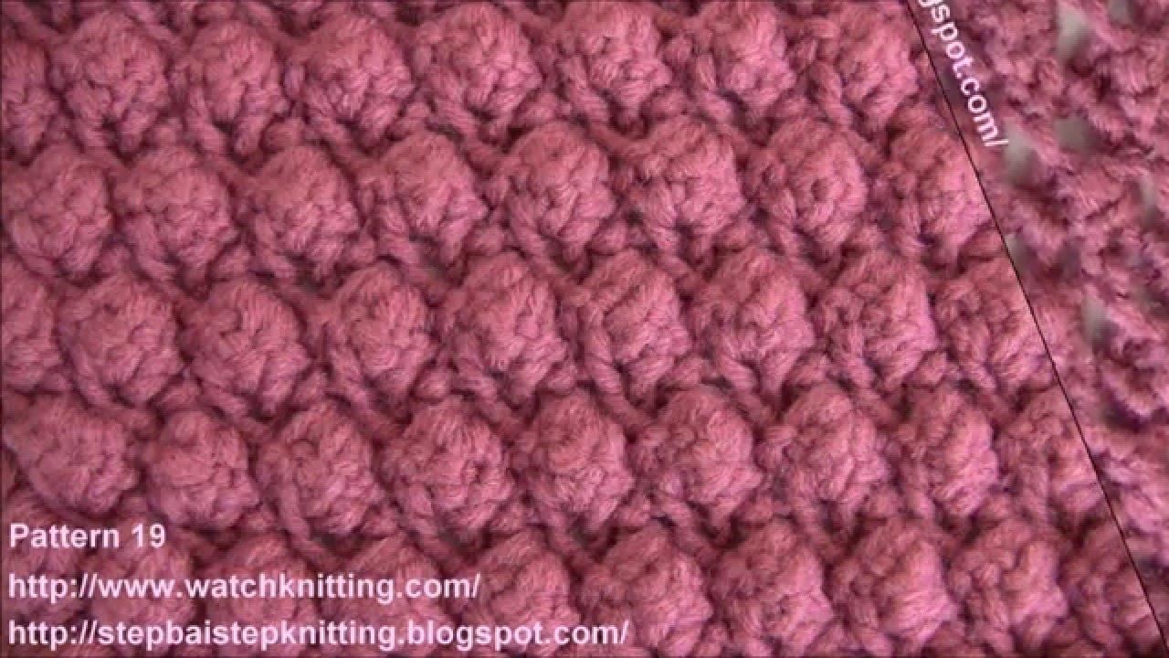 78a292e018 Free knitting patterns - YouTube