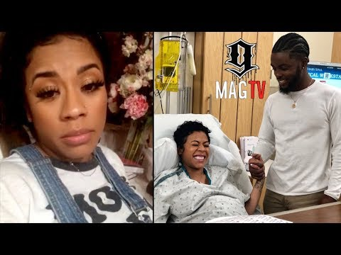 Keyshia Cole Starts Contracting During Auntie Duty! 👶🏽