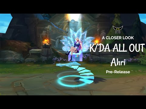 K/DA ALL OUT Ahri Epic Skin (Pre-Release)