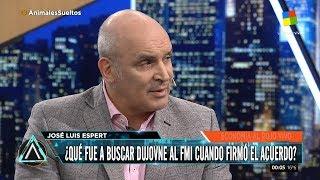 """José Luis Espert en """"Animales Sueltos"""" por América el 07 de Septiembre de 2018"""