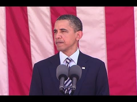 President Obama Speaks at Memorial Day Service
