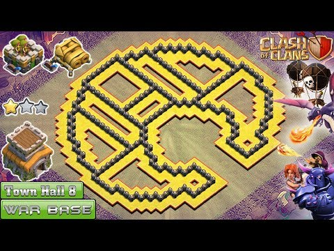 NEW EPIC Clash of Clans Town Hall 8 (TH8) War Base 2018 !! TH8 Base [TROLL] – Clash of Clans