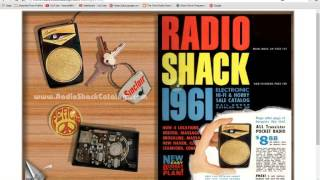 TRRS #0873 - Radio Shack Catalogs Online