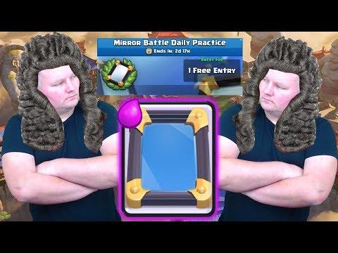 Najbardziej sprawiedliwy Challenge ?! Gram Mirror Battle Clash Royale Polska