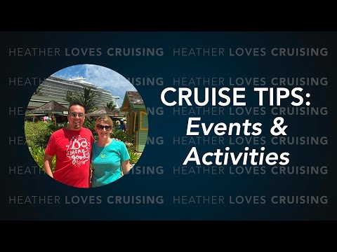 Allure of the Seas (Oasis Class Cruise Ship) Events and Activities Tips