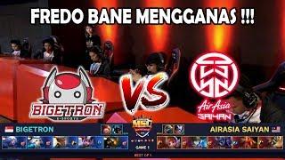 Fredo Bane Mengganas !! ASYN ( Malaysia ) vs BTR ( Singapura ) MSC ...