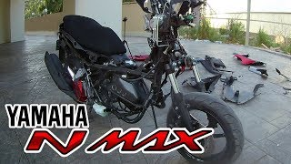 Strip down - All Plastic parts - Yamaha Nmax