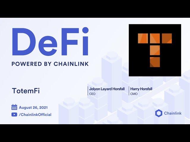 TotemFi on Chainlink Live | Binance Smart Chain Prediction Markets