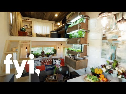 Tiny House Nation: A Modern Bohemian Tiny Home (Season 4, Episode 2) | FYI