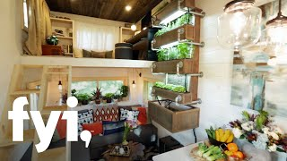 Tiny House Nation: A Modern Bohemian Tiny Home  Season 4, Episode 2  | Fyi