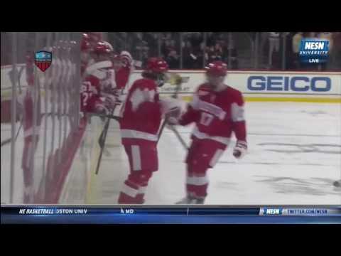Boston University at Boston College - Goal Highlights - 01/16/2017