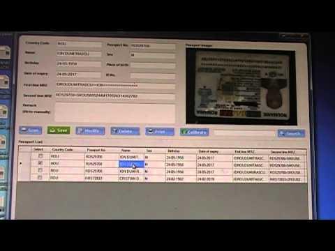 Scanner Passport / Scanner ID