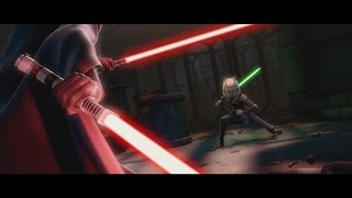 Star Wars: The Clone Wars - Ahsoka Tano vs Barriss Offee [1080p]