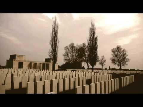 World War 1, The Ypres Salient 1914-18, war graves