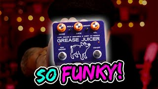 West Co Pedals Grease Juicer envelope filter + fuzz pedal